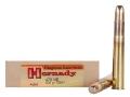 Hornady Dangerous Game Ammunition 470 Nitro Express 500 Grain DGX Flat Nose Expanding Box of 20