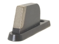 "NECG Masterpiece Ramp Interchangeable Sourdough-Patridge Front Sight .394"" Height Steel Blue"