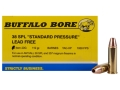 Buffalo Bore Ammunition 38 Special Short Barrel 110 Grain Barnes TAC-XP Hollow Point Lead-Free Box of 20