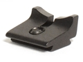 "Williams Rear Sight Blade Square Notch 3/16"" Height Aluminum Black"