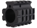DPMS Gas Block 4 Picatinny Rail AR-15, LR-308 Bull Barrel .936&quot; Inside Diameter Aluminum Matte