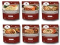 Wise Food 72-Hour Emergency Entree Kit Freeze Dried Food Pack of 6