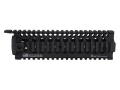 Daniel Defense Omega 9.0 Free Float Tube Handguard Quad Rail AR-15 Mid Length Aluminum Black