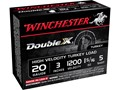 "Winchester Double X Turkey Ammunition 20 Gauge 3"" 1-5/16 oz #5 Copper Plated Shot Box of 10"