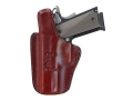 Don Hume PCCH Inside the Waistband Holster Right Hand Glock 20, 21, 37 Leather Brown