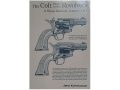 Product detail of &quot;The Colt Single Action Revolvers: A Shop Manual Volumes 1 &amp; 2&quot; Book by Jerry Kuhnhausen