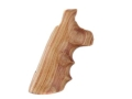 Hogue Fancy Hardwood Grips with Finger Grooves Colt Anaconda, King Cobra Tulipwood