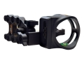 "Apex Gear Accu-Strike Pro 5 Light 5-Pin Bow Sight .019"" Diameter Pins Aluminum Black"