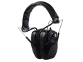 Hyskore Stereo Electronic Earmuffs (NRR 21 dB) Black
