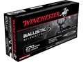 Winchester Supreme Ammunition 270 Winchester Short Magnum (WSM) 150 Grain Ballistic Silvertip