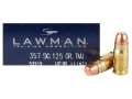Product detail of Speer Lawman Ammunition 357 Sig 125 Grain Total Metal Jacket Box of 50