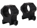 "Weaver 1"" Tactical 6-Hole Weaver-Style Rings Matte Extra-High"