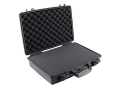 "Pelican 1490 Attache Pistol Gun Case with Pre-Scored Foam Insert 20"" x 14"" x 4-1/2"" Polymer Black"