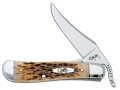 "Case RussLock Folding Pocket Knife 2.7"" Clip Point Stainless Steel Blade"