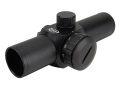 ADCO Alpha Red Dot Sight 25mm Tube 1x 1.5 MOA Dot Matte