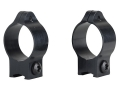 Talley 1&quot; Ring Mounts Remington 597, Weatherby MK22, Winchester 9422 Matte Low