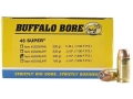 Product detail of Buffalo Bore Ammunition 45 Super 200 Grain Jacketed Hollow Point Box of 50