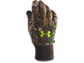 Under Armour Men's Scent Control Armour Fleece Gloves Polyester Realtree Xtra Large
