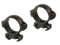 Millett 30mm Angle-Loc Windage Adjustable Weaver-Style Rings Matte Low