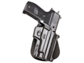 Product detail of Fobus Paddle Holster Right Hand Sig Sauer P220, P225, P226, P228, P245 (Including Rail Models) Polymer Black