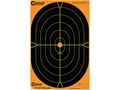 Caldwell Orange Peel Target 12"x18" Self-Adhesive Silhouette