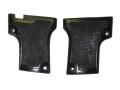 Vintage Gun Grips Webley 1909 Double Screw 25 ACP Polymer Black