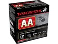 Winchester AA Light Target Ammunition 12 Gauge 2-3/4&quot; 1-1/8 oz #7-1/2 Shot