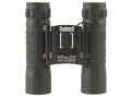 Bushnell Powerview Binocular 10x 25mm Compact Roof Prism Rubber Armored Black