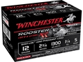 "Winchester Rooster XR Pheasant Ammunition 12 Gauge 2-3/4"" 1-1/4 oz #5 Copper Plated Shot"