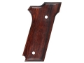 Hogue Fancy Hardwood Grips S&W 645