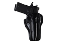 Bianchi 57 Remedy Outside the Waistband Holster Right Hand 1911 Government Leather Black
