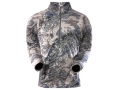 Product detail of Sitka Gear Men&#39;s Core Zip-T Base Layer Shirt Long Sleeve Polyester