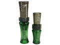 Buck Gardner Gander Hammer/Mallard Hammer Polycarbonate Goose and Duck Call Combo Green and Smoke