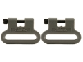 The Outdoor Connection Brute Sling Swivels 1-1/4&quot; Polymer Gray (1 Pair)