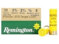 Product detail of Remington Premier STS Target Ammunition 20 Gauge 2-3/4&quot; 7/8 oz #8 Shot