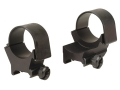 Weaver 30mm Top-Mount Extended Rings Matte High