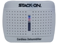 Stack-On Wireless Rechargeable Silica Gel Desiccant Dehumidifier (Protects 100 Cubic Feet) White