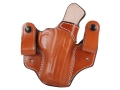 DeSantis Mad Max Tuckable Inside the Waistband Holster Right Hand Smith & Wesson M&P 9, 40 Leather Tan