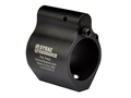 "Syrac Ordnance Gen II Click-Adjustable Gas Block AR-15, LR-308 Bull Barrel 0.936"" Inside Diameter Low Profile Black Melonite"