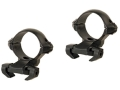 Millett 1&quot; Angle-Loc Windage Adjustable Weaver-Style Rings 2 Extended Rings Gloss Medium