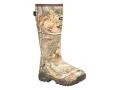 "LaCrosse Alpha Burly Sport 18"" Waterproof 800 Gram Insulated Hunting Boots Rubber Clad Neoprene Realtree AP Camo Mens 6"