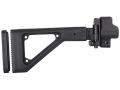 Choate Adjustable Side Folding Stock GSG-5 Steel and Synthetic Black