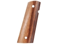 Hogue Fancy Hardwood Grips 1911 Government, Commander with Extended Magazine Well Goncalo Alves