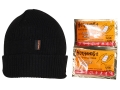 HeatMax Heated Watch Cap Synethetic Blend Black