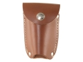 Hunter 27-152 Belt Magazine Pouch for Remington 740, 742, 760, Winchester 88, 100 Magazine Leather Brown