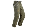 Sitka Gear Men&#39;s Stormfront Rain Pants Polyester Forest Green Medium 31-33