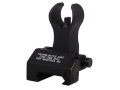 Product detail of Troy Industries Front Flip-Up Battle Sight HK-Style with Tritium AR-15 Handguard Height Aluminum Black