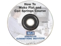American Gunsmithing Institute (AGI) Video &quot;How to Make Flat and Coil Springs&quot; DVD