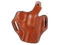 DeSantis Thumb Break Scabbard Belt Holster Right Hand Smith &amp; Wesson L-Frame 386PD, 581, 586, 681, 686 3&quot; Barrel Leather Tan