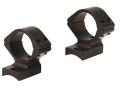 Talley Lightweight 2-Piece Scope Mounts with Integral 1&quot; Rings Savage 10 Through 16, 110 Through 116 Round Rear, Axis Matte Low